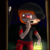 Teen Brashton and the Slenderman by Brashgirl901