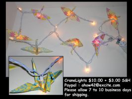 Peaceful Origami Lights by ahow42