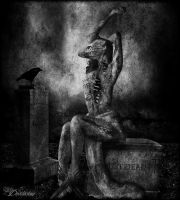 Just Dead-bw by D3vilusion