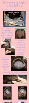 Bjd Wig Tutorial by Kieran-Blaine