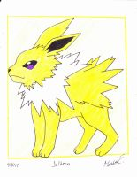 jolteon by MarleneUrameshi