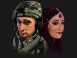 ChrisandJessPlays YouTube Banner ~Complete~ by jessparry