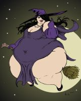 The Witch Eclipsed the Moon by Ray-Norr