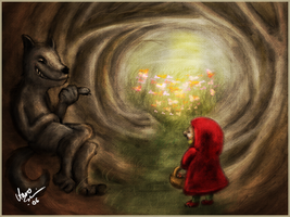 Little Red Riding Hood by muk1