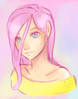 The face of kindness by Mezy-Peach