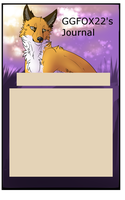 Journal comish for GGFOX22 by Wolfvids