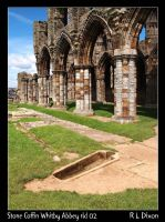 Stone Coffin Whitby Abbey rld 02 by richardldixon