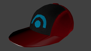 Pokemon Hat D/P Model by Mikey-Spillers