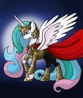 My Little Avengers: Celestia, the All Mother by Kenichi-Shinigami