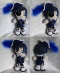 Mini Plushie, Ciel Phantomhive as Smile by ThePlushieLady