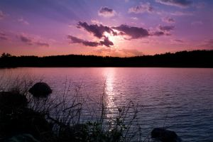 Sunset at Burr Pond by photolight