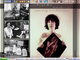 Patti Smith Desktop by sToniA