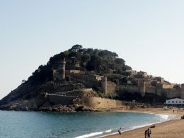 Castle - Tossa de Mar  (95) by RowyeStock
