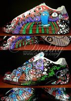 forest monsters shoes by dushky