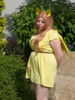 Fluttershy Cosplay by LolitaLibrarian