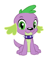 Spike the dog nod (animated) by papaudopoulos69