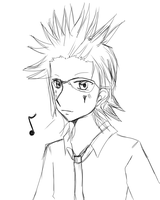 Axel -- ready for work. by terrahotaru