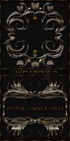 Exquisite decorative frames by DiZa-74