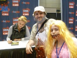 Meeting Laurie Holden 2 by Linksliltri4ce