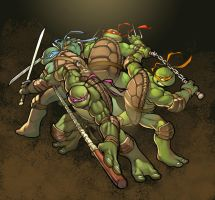 TMNT by greatlp by deffectx