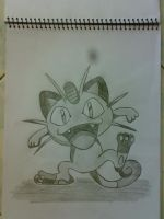 Meowth by johnrenelle