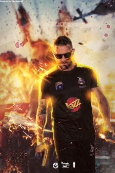 Brendon Mccullum Design by GraphicalManiacs