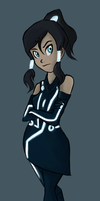 the avatar's on the grid. by PrincessMon