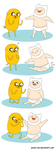 Baby Finn and Jake by Jackie-lyn