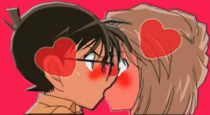 Detective Conan kiss Ai (forgot the ep. Snapshot) by black4869