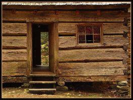 Cabin Front by MariusStormcrow