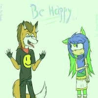 Be Happy by RayRamador