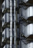 Lloyd's of London Exterior Detail by rednotdead