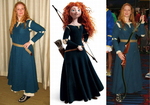 Cosplay: Merida from 'Brave' by TempestFae
