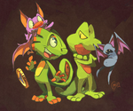 lets be friends...(ft. Yooka and Laylee) by edtropolis