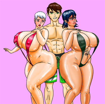 COMM: Ben's New Harem by 13Saturn