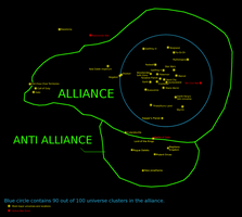 Updated Alliance Map by BudCharles