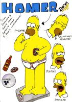 Homer's Expressions... by Beth182