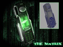 Matrix Phone by Puckducker
