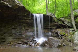 Emory Gap Falls by notneb82