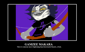Scary Gamzee by animemusicFCB