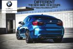 2015 BMW X6 M Coupe Rear by Sk1zzo
