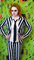 Halloween 2011 - Beetlejuice I by sarakennedy