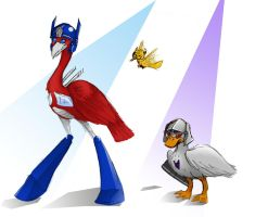 Transfowlers :D by Armadria