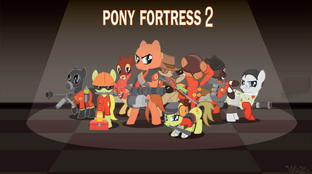 My Little Pony Fortress 2 by Wreky