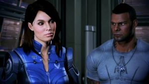 Ashley and James Vega Mass Effect 3 by RatedRBryan