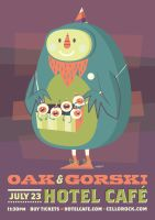 Oak and Gorski Flier by TheBeastIsBack