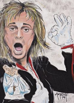David Lee Roth by Supernaught79