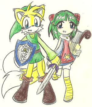 The Legend of Tails by XDestinyRoseX