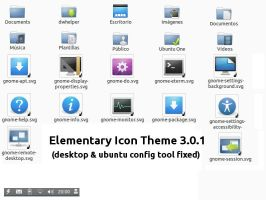 Elementary Icon Theme 3.0.1 by LozanoJack