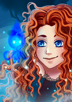 Merida by Little-Roisin